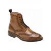 Высокие ботинки Next,  тильный цвет,  эффектная отделка